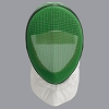 Allstar 1600N FIE Epee fencing MASK- Green