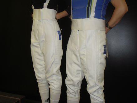 uhlmann world cup fie 800n fencing pants