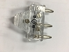 BG 3 prong CLEAR PLUG