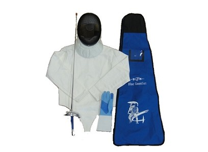Epee Beginner SET 5 pieces Basic with fencing bag