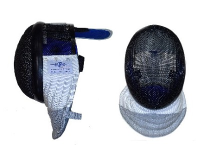 BG 'Olympic' electric foil fencing MASK with conducting bib