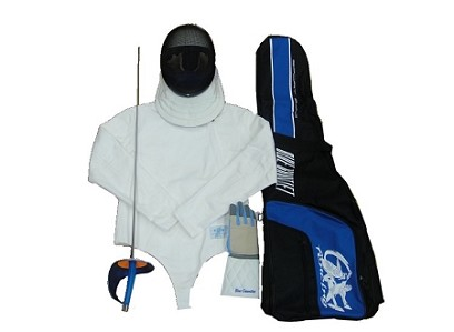 Sabre Beginner SET 5 pieces High Quality with the fencing bag