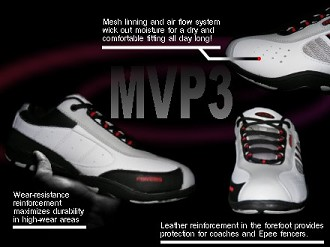 MVP III fencing SHOES