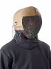 PBT 350N saber coaching mask with leather protector.
