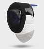 Uhlmann 1600N FIE foil fencing MASK with conducting bib