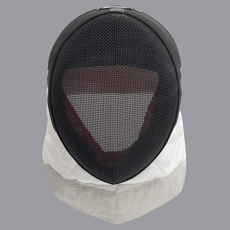 Allstar FIE electric foil mask with conducting bib 1600N