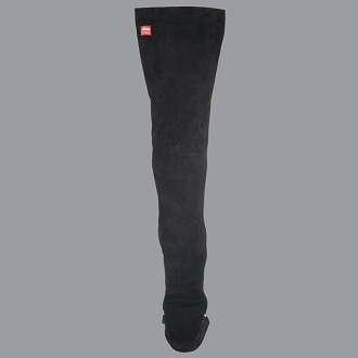 Allstar leather leg protector with foot